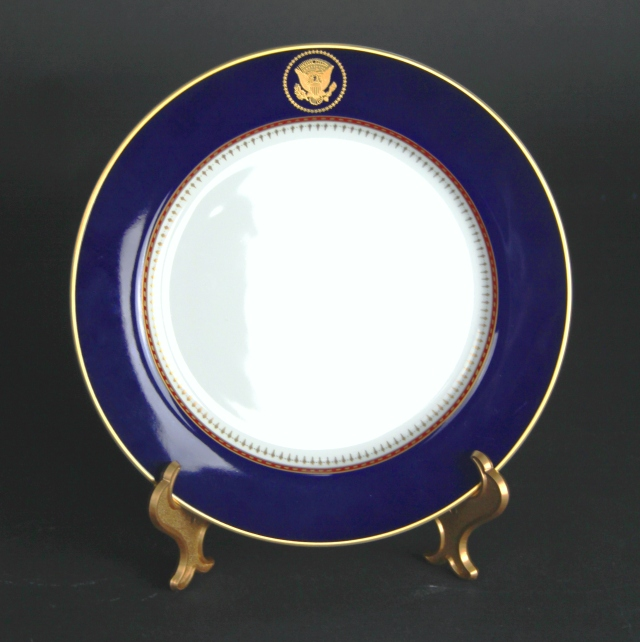 white house plate
